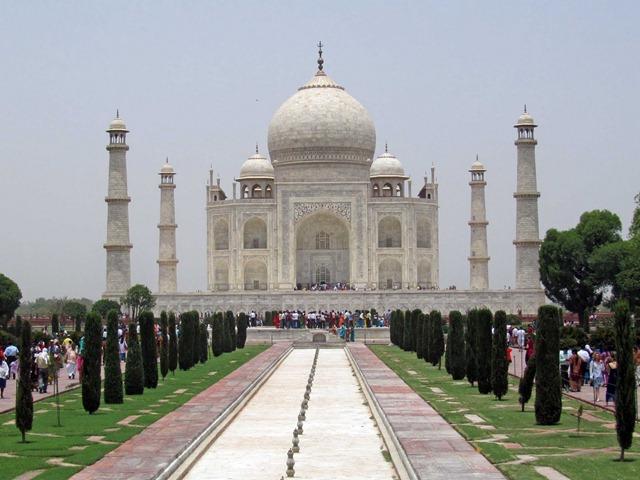 Agra Taj Mahal_13hPM